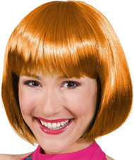 Ladies Short Ginger Bob Wig
