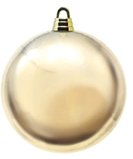 Oversized 20cm Gold Bauble