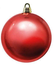 Oversized 20cm Red Bauble