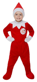 Boys Elf On The Shelf Fancy Dress Costume