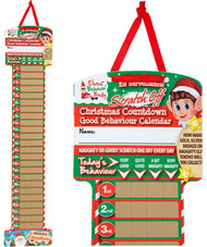 Naughty Elf Christmas Countdown