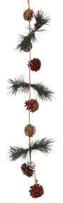 Pine Cone Christmas Winter Garland Decoration