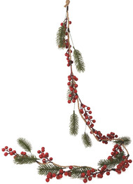 Winter Berries Christmas Garland Decoration