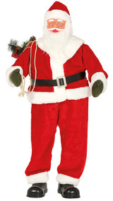 1.8m Tall Musical Moving Animated Santa Claus Prop