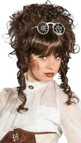 Ladies Brown Steampunk Wig