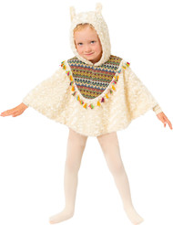 Child's Llama Fancy Dress Cape