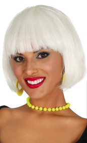 Ladies Glow In The Dark Bob Wig
