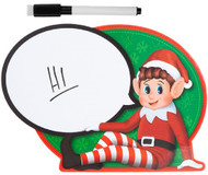 Naughty Elf Message Board Sign
