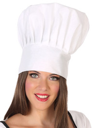 Adults Deluxe White Chefs Top Hat