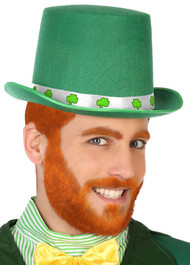 Adults Green St Patricks Top Hat