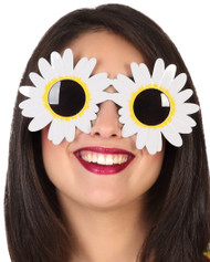 Adults Daisy Flower Hippie Glasses
