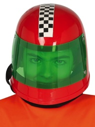 Childs Red Racing Driver Helmet
