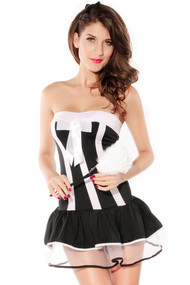 Ladies French Maid Fancy Dress Costume