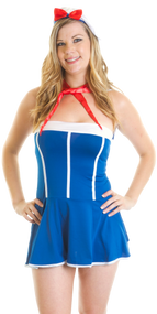 Ladies Anchors Away Sailor Fancy Dress Costume