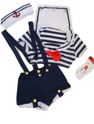 Ladies Saucy Sailor Fancy Dress Costume