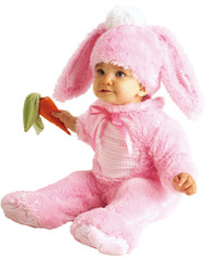 Baby Pink Easter Bunny Fancy Dress Costume