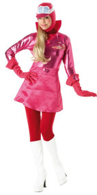 Ladies Penelope Pitstop Fancy Dress Costume