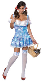 Ladies Dorothy Fancy Dress Costume