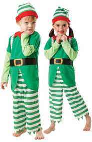 Child's Helpful Elf Fancy Dress Costume