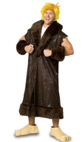 Mens Barney Rubble Fancy Dress Costume