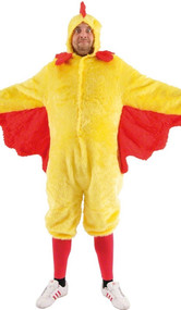 Mens Easter Chicken Fancy Dress Costume