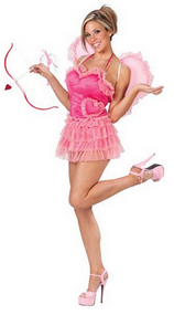 Ladies Sexy Cupid Fancy Dress Costume