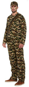 Mens Army Fancy Dress Costume