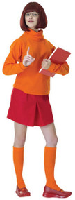 Ladies Velma Fancy Dress Costume