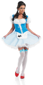Ladies Dorothy Fancy Dress Costume 2