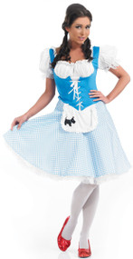 Ladies Longer Length Dorothy Fancy Dress Costume