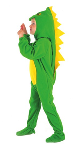 Boys Green Dinosaur Fancy Dress Costume