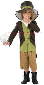 Boys Artful Dodger Fancy Dress Costume