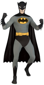 Mens Batman 2nd Skin Fancy Dress Costume