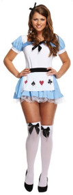 Ladies Tea Party Alice Fancy Dress Costume