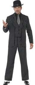 Mens Vintage Gangster Fancy Dress Costume
