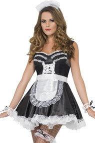 Ladies French Maid Fancy Dress Kit