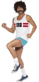 Mens 118 118 Fancy Dress Costume