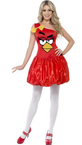 Ladies Angry Birds Fancy Dress Costume