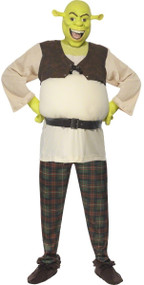 Mens Shrek Fancy Dress Costume