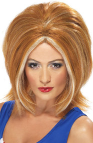 Ladies Ginger Power Wig