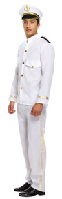 Mens Captain Fancy Dress Costume