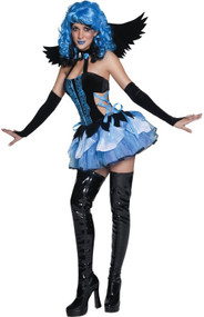 Ladies Fallen Angel Fancy Dress Costume 3