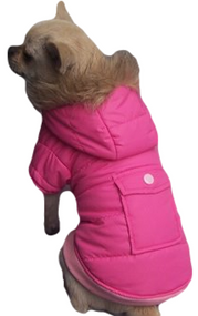 Dog Pink Padded Winter Coat