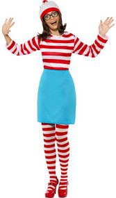 Ladies Where's Wenda Fancy Dress Costume 2