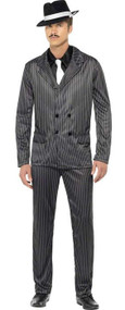 Mens Gangster Fancy Dress Costume