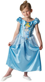 Girls Classic Cinderella Fancy Dress Costume