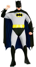 Mens Batman Fancy Dress Costume
