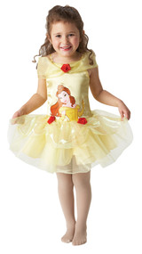 Girls Ballerina Belle Fancy Dress Costume