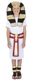 Child's Egyptian Pharaoh Fancy Dress Costume