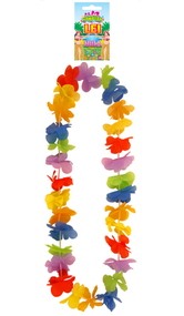 Multi Coloured Hawaiian Garland